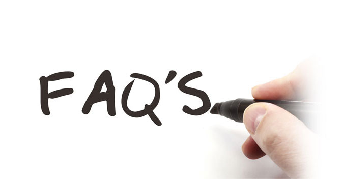 IMG: Frequently Asked Questions Title Banner.